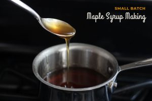 Small Batch Maple Syrup in Your Home Kitchen — A Practical Guide to Reducing Energy, Cost and Mess